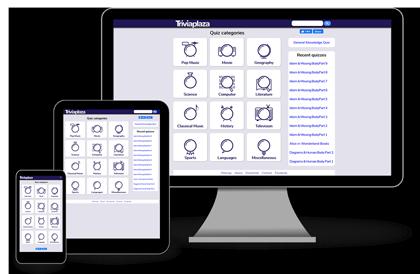 Triviaplaza - flexibele layout